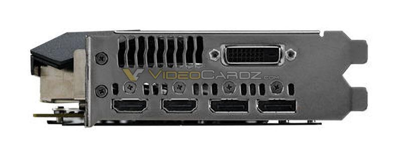 ASUS ROG GTX 1060 STRIX Conexiones