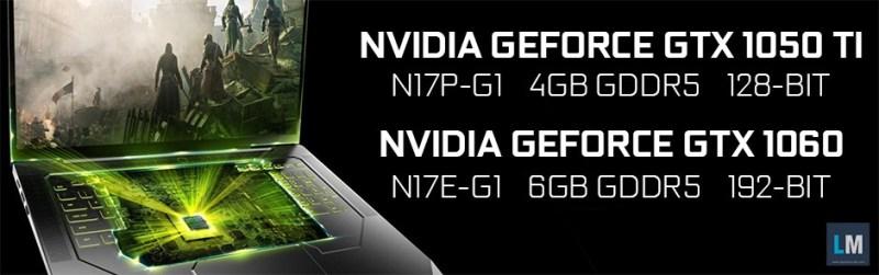 NVIDIA GTX 1000 Portatil