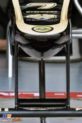 A Detail of the Lotus F1 Team E21