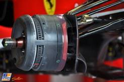 Detail of the Scuderia Ferrari F138