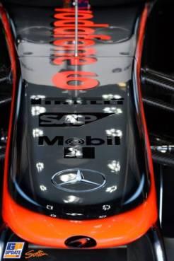 A Detail of the McLaren Mercedes MP4-28