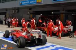 Fernando Alonso and Felipe Massa, Scuderia Ferrari, F138