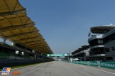 The Main Straight on the Sepang International Circuit