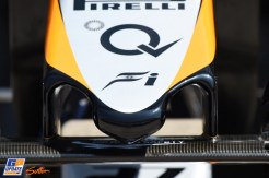 Detail of the Front Wing for the Force India F1 Team VJM09