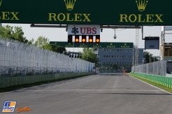 The Start and Finish Straight