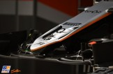 Detail of the Force India F1 Team VJM09