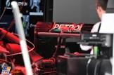 Detail of the Mercedes AMG F1 Team F1 W07 Hybrid