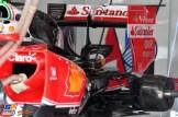 Back Wing for the Scuderia Ferrari SF16-H