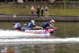 Daniel Ricciardo (Red Bull Racing) in a Power Boat