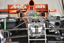 Detail of the McLaren Honda MCL32