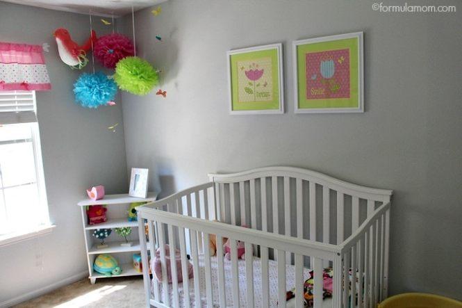 Girl Nursery Ideas On A Budget 15 Ways to Jazz Up Your Nursery