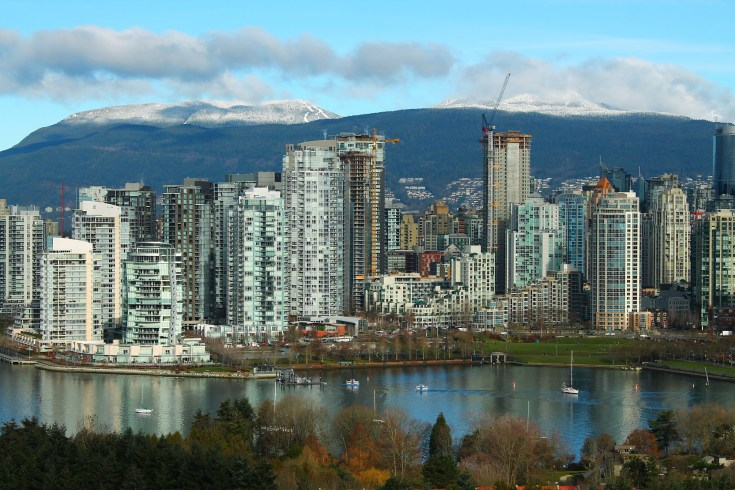 Vancouver North Shore Skyline