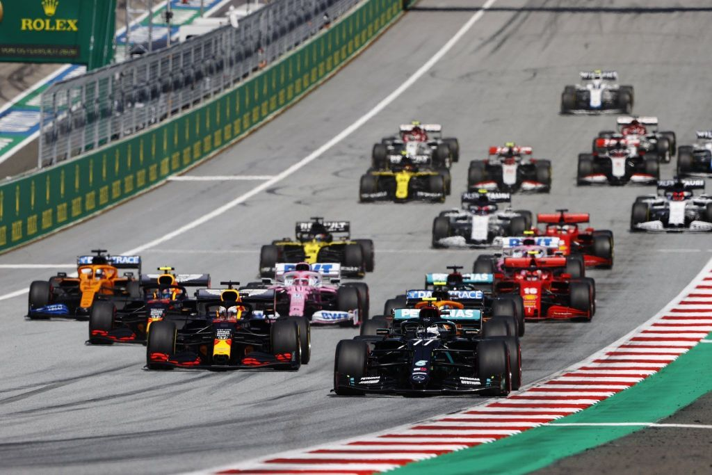 Austrian GP: Bottas wins in chaos as Norris was P3 with only 11 ...