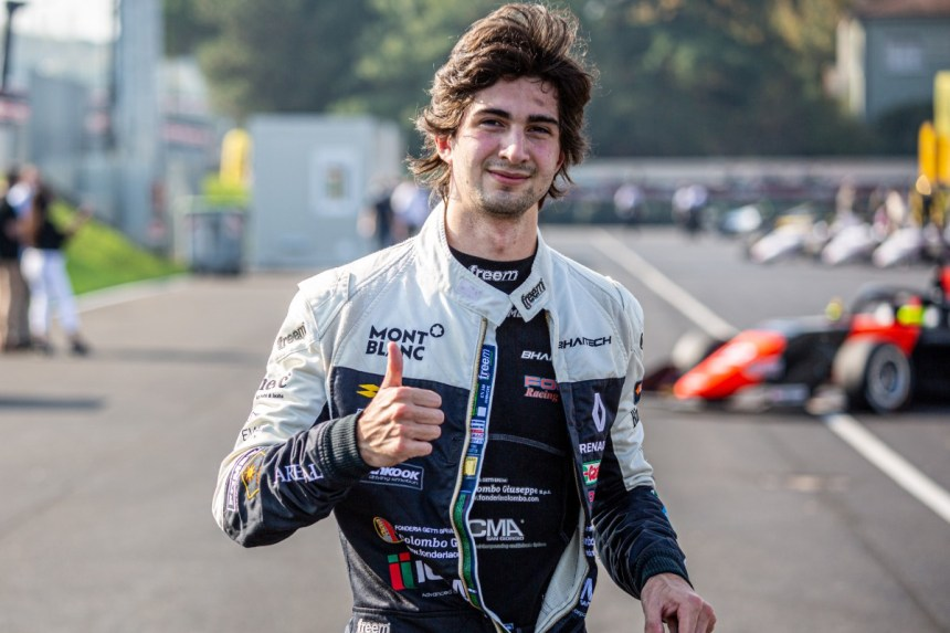 Colombo claims pole for second Eurocup race at Hockenheim