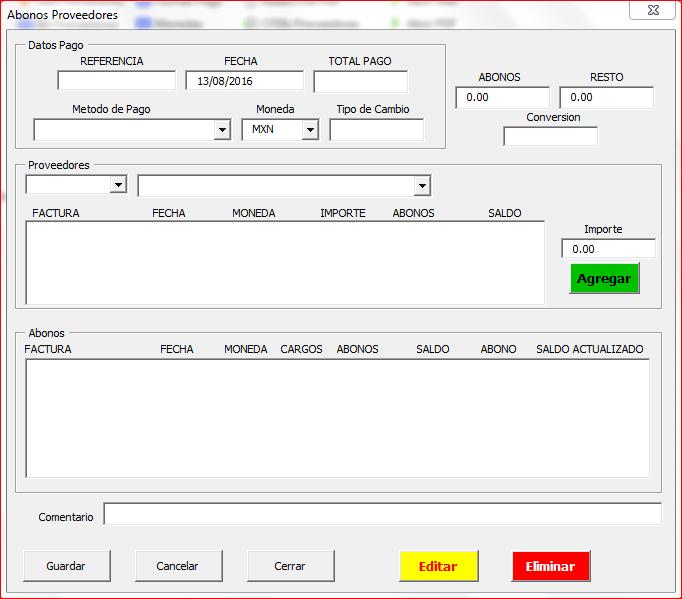 Abonos PagosFX 4.0