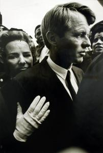 Booby and Ethel Kennedy. MLK Funeral.