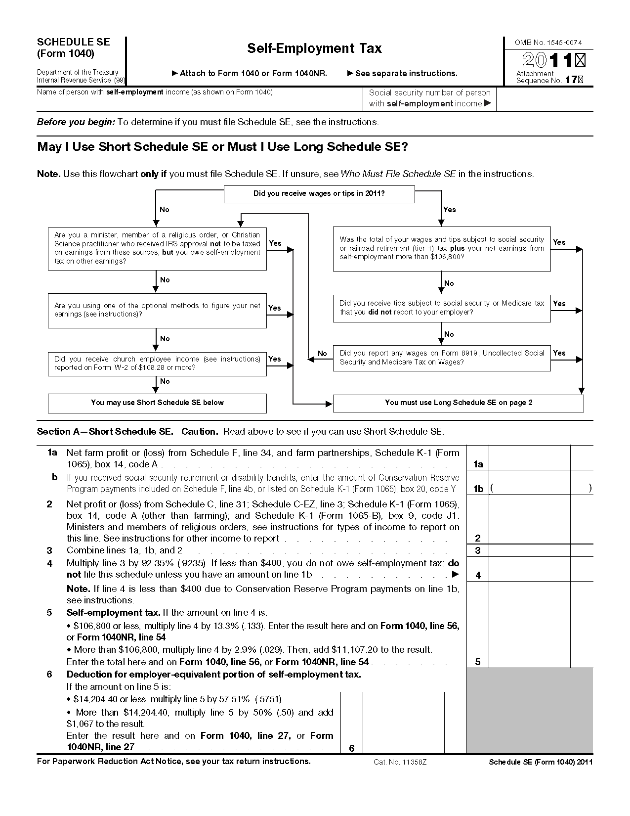 What Is Irs Form