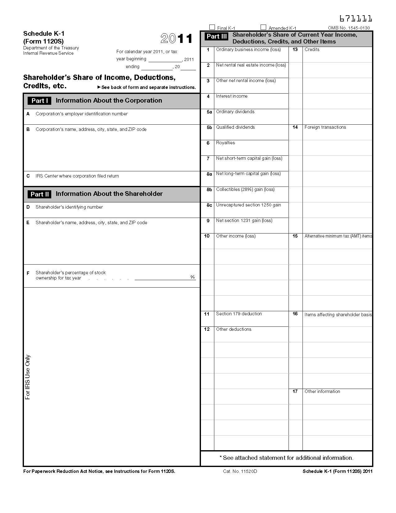 Irs Worksheet 1