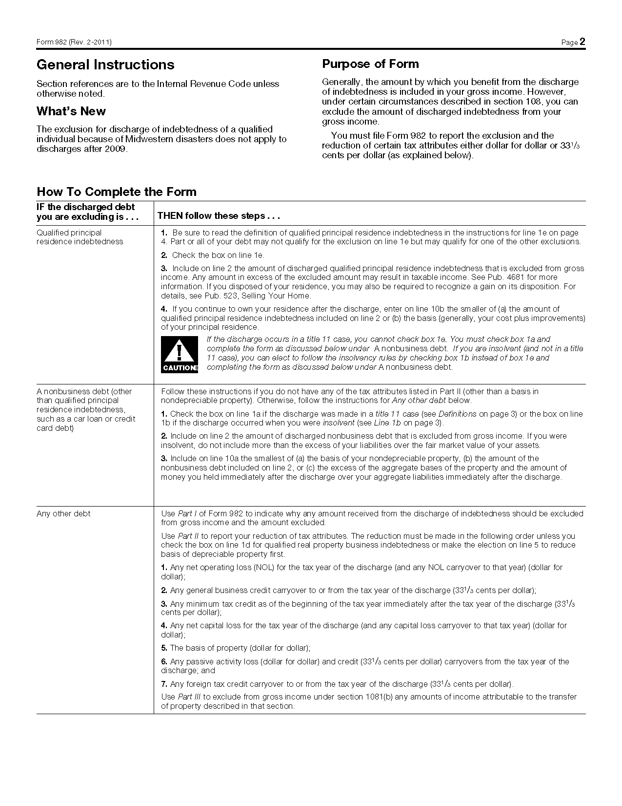 Worksheet Irs Form 982 Insolvency Worksheet Grass Fedjp