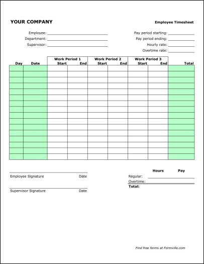 Monthly Timesheet Premium. Sample Payroll Timesheet 7 Documents In