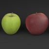 Apple low Poly model