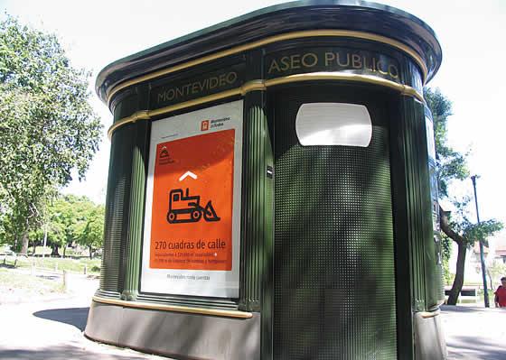 Identidad Montevideo. Parte de la campaña de publicidad vía pública, Programa «Puesta a Punto».