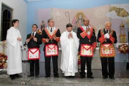 La novedad no es que suceda sino que se publique en la Logia Vaticana.