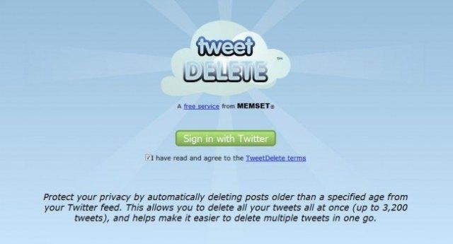 Como borrar tweets eliminar limpiar twitter TweetDelete foronaranja