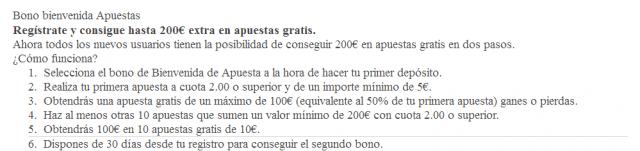 luckia bono bienvenida freebet apuesta gratuita 200 foronaranja tyc1