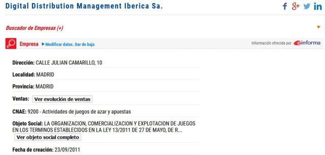 casino777 digital distribution management iberica rafael diego baragaño david boccara alain foronaranja