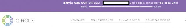 Circle monedero envio dinero en internet foronaranja registro 7 recomendacion
