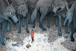 caza-referidos comunidad lobos rodeando foronaranja