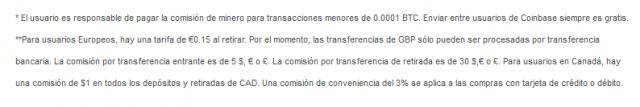 pagina de cambio de exchange bitcoin btc coinbase comision retiro foronaranja