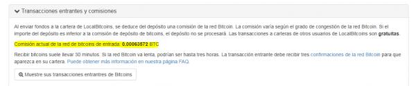 pagina de cambio de exchange bitcoin btc localbitcoin comision deposito foronaranja