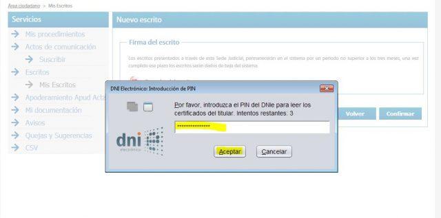 juicio verbal denuncia demanda sede judicial electronica gratis 2000 casa apuesta 14 foronaranja