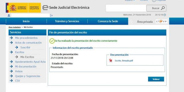 juicio verbal denuncia demanda sede judicial electronica gratis 2000 casa apuesta 16 foronaranja