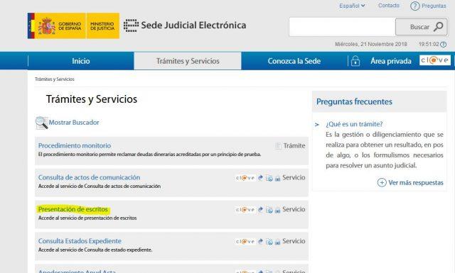 juicio verbal denuncia demanda sede judicial electronica gratis 2000 casa apuesta 2 foronaranja