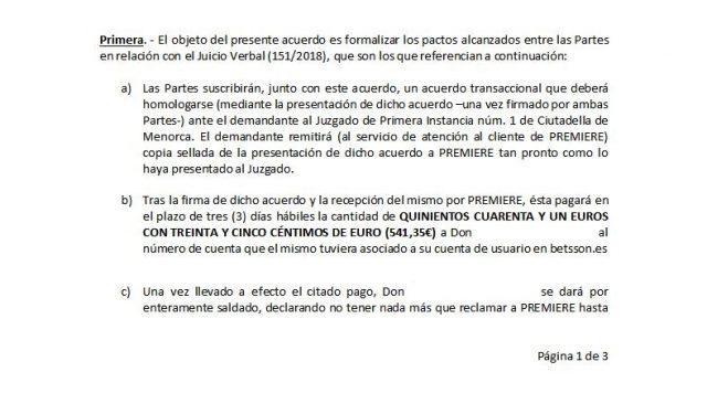 acuerdo extrajudicial transaccional betsson 2 foronaranja