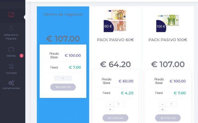 gananciasdeportivas.net estafa panel de usuario paquete foronaranja