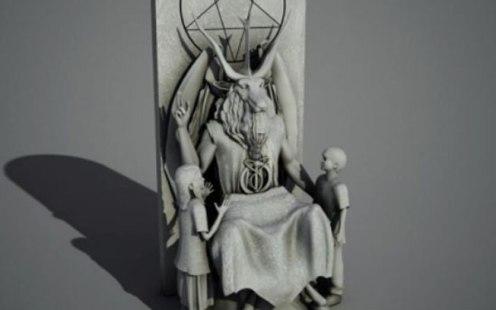 estatua satanista de oklahoma