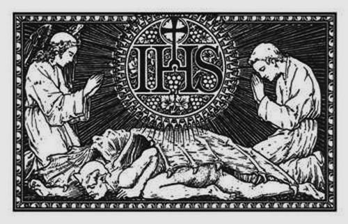 santo nombre exorcismo dibujo