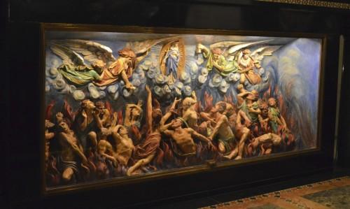 cuadro de las almas del purgatorio fondo