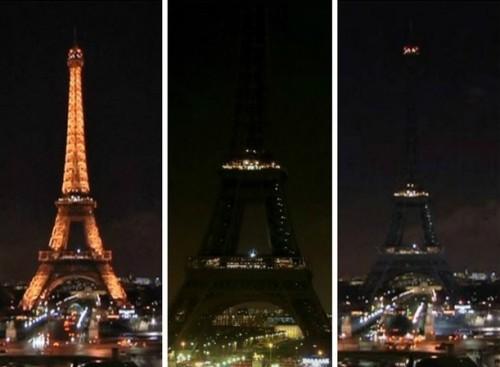 torre eiffel apaga sus luces por el atentado a charlie hebdo