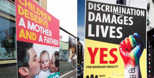 voto por el si y el no en irlanda