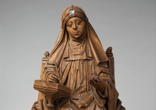 estatua de santa brigida de suecia