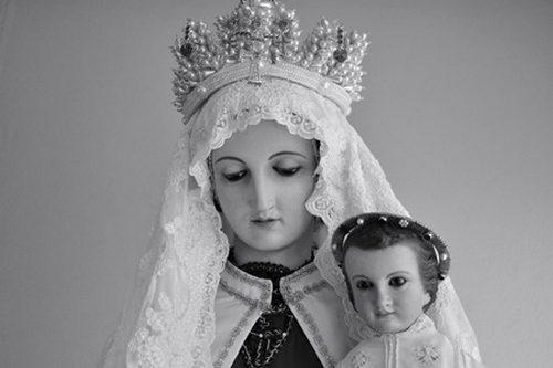 La imagen de Nuestra Señora del Carmen encargada por Nuestra Madre
