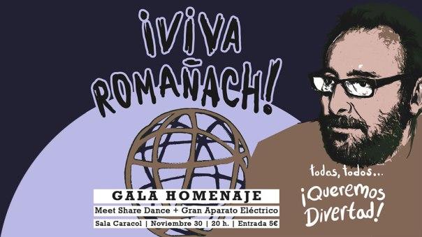 Gala Homenaje Javier Romanach.