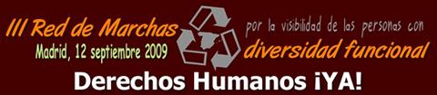 Logotipo de la tercera red de marchas