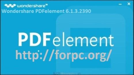 Wondershare PDFelement 6.1.3.2390 2018 Crack + Registration Code Download