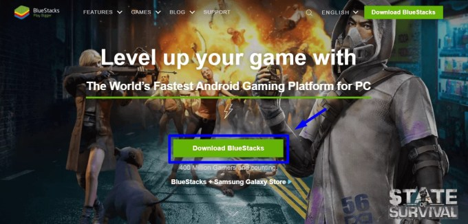 Download BlueStacks for PC